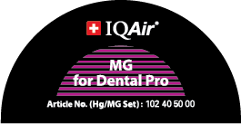 IQAir DentalPro badge