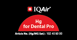 IQAir Dental Hg Badge
